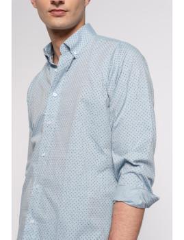 imagem de Camisa Homem Azul Denim2