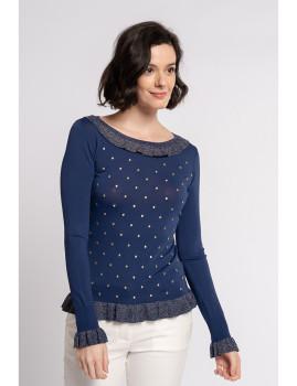 imagem de Camisola Senhora Azul Marinho1