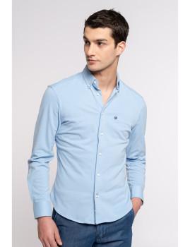 imagem de Camisa Homem Azul Claro1