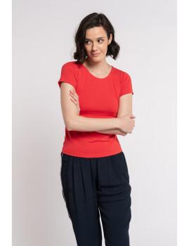 imagem de T-Shirt Senhora Vermelho1