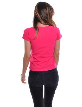 imagem de T-Shirt Senhora Fucsia2