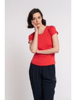imagem de T-Shirt Senhora Vermelho2