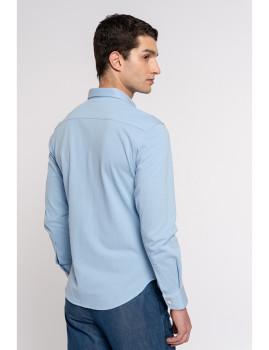 imagem de Camisa Homem Azul Claro3