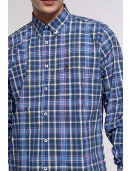 imagem de Camisa Homem Azul 2