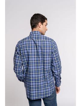 imagem de Camisa Homem Azul 3