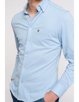imagem de Camisa Homem Azul Claro2