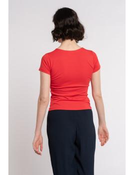 imagem de T-Shirt Senhora Vermelho3