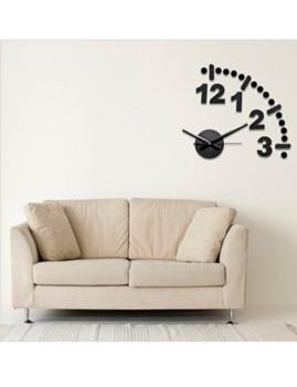 Relógio Modular de Parede ´3 , 2, 1, 12´ Preto