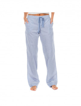 Calças de Pijama Calvin Klein de Senhora Azul Céu