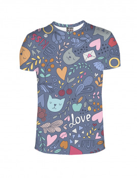 T-shirt Romantic Cats