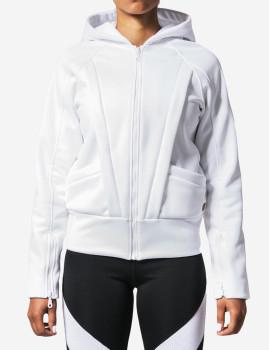 Sweatshirt Joy Fit Crew Branco