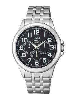 Relógio Q&Q Homem Metalizado
