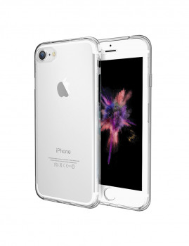 Capa Transparente Frontal + Traseira Para Iphone 7 Transparente