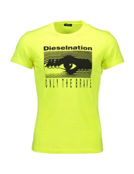imagem de T-shirt Homem Amarelo1
