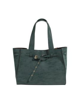Shopper Bag Parfois Verde Escuro Franky