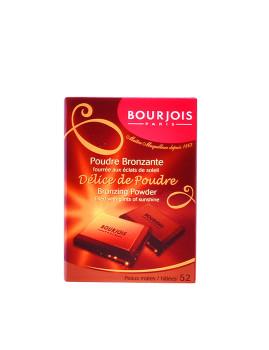 Pó compacto Bourjois Délice De Poudre Bronzing Powder #52-Peaux Mates 6 Ml