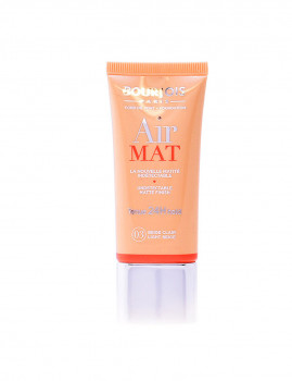 Base de Maquilhagem Bourjois Air Mat Fond De Teint 24H #03-Beige Clair 30 Ml