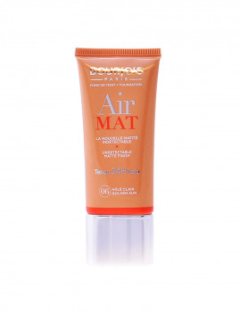 Base de Maquilhagem Bourjois Air Mat Fond De Teint 24H #06-Golden Sun 30 Ml