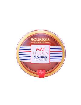 Pó compacto bronzeador Bourjois Mat Illusion #22-Dark 15 Gr