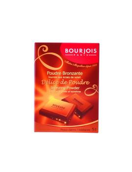 Pó compacto Bourjois Délice De Poudre Bronzing Powder #51-Peaux Claires 6 Ml