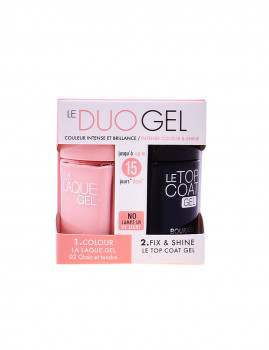 Verniz de unhas Bourjois Nails La Laque Gel Lote 2 Pz