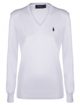Pullover Ralph Lauren V Senhora Branco
