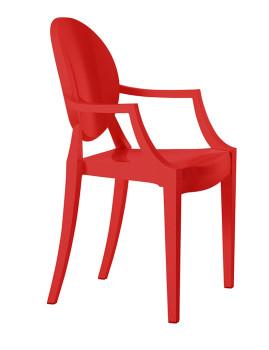 imagem de Cadeira Valentina (pack de 4) em policarbonato2