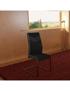 imagem de Pack 4 Cadeiras Pretty Preto1