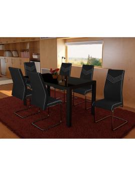 imagem de Pack 4 Cadeiras Pretty Preto2