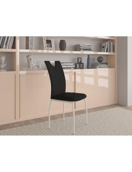 imagem de Pack 4 Cadeiras Bonny Preto1