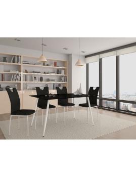 imagem de Pack 4 Cadeiras Bonny Preto2