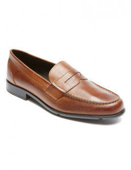 Mocassim Rockport Classic Loafer Penny Cognac