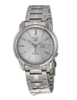 Relógio Seiko 5 Gent Classic Prateado Homem