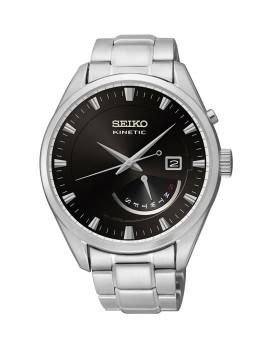 Relógio Seiko Classic Prateado E Preto Homem