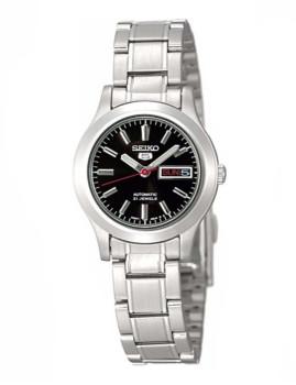 Relógio Seiko 5 Lady Classic Prateado e Preto Senhora