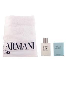 Conjunto Acqua di Gio: Perfume Giorgio Armani Acqua di Gio edt 100ml + toalha