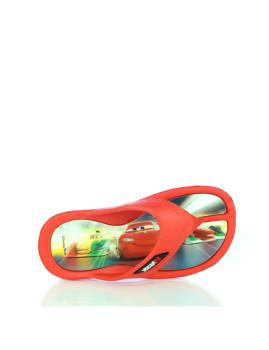 Chinelos Cars Vermelhos