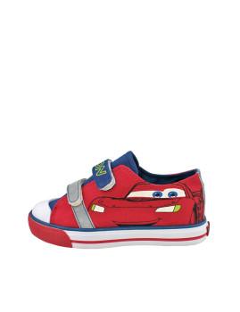 Ténis Cars c/Velcro Vermelhos&Azuis