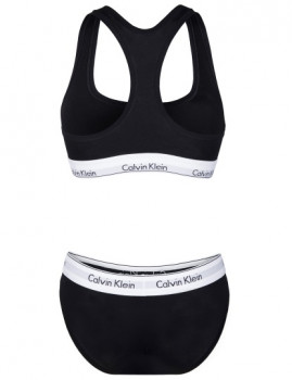 imagem de Slips+Top Calvin Klein Senhora Preto4