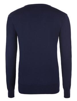 imagem de Pullover V Senhora Azul Navy4