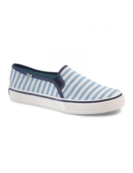 imagem de Ténis Keds Senhora Double Decker Cabana Stripe Azul Vivo1