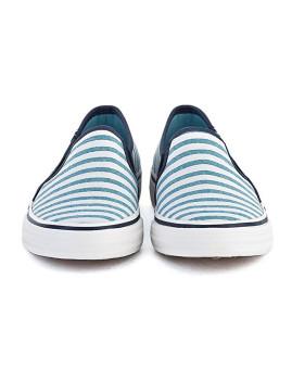 imagem de Ténis Keds Senhora Double Decker Cabana Stripe Azul Vivo2