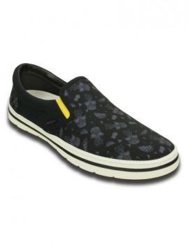 imagem de Slippers Crocs Norlin Summer Fun Slip-On Preta E Branco1