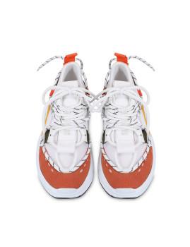 imagem de Ténis Senhora Branco e Orange4