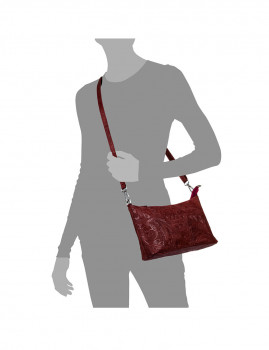 imagem de Mala de Ombro Martia Vermelho4
