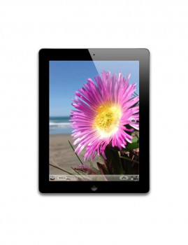 imagem de Apple iPad 4 (Retina Display) 64GB WiFi 4G Black Grau A1