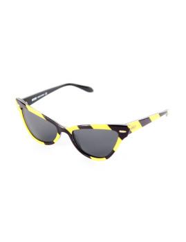 Óculos de Sol Moschino Amarelo e preto