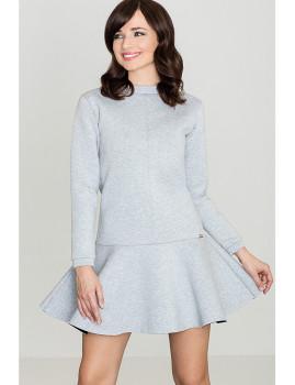 Vestido Lenitif Cinza