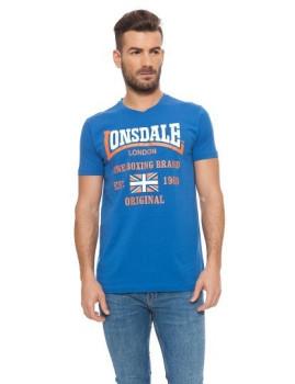 T-shirt Lonsdale Azul Royal