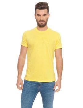 T-shirt Lonsdale Amarela Limão
